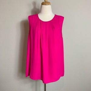 Vince Camuto Hot Pink Blouse